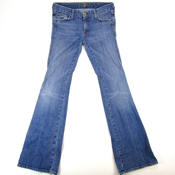 7 For All Mankind Denim - 7 For All Mankind Bootcut A Pocket Womens Jeans